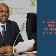 Gigaba confirms resignation of Home Affair DG Mksuleli Aplen