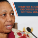 Minister Angie Motshekga discusses South Africa's critical skills shortage