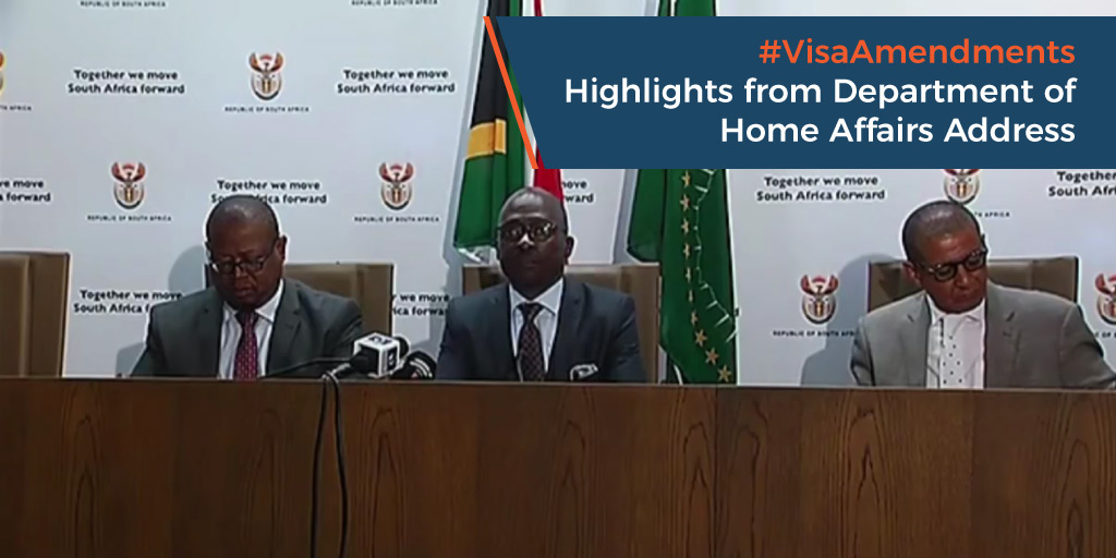 Visa Amendments - Highlights from Department of Home Affairs Address