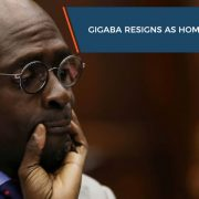 Gigaba resigns as Home Affairs Minister