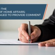 White paper on the repositioning of Home Affairs: Public encouraged to provide comment