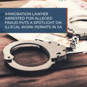 Immigration lawyer arrested for alleged fraud puts spotlight on illegal work permits in South Africa