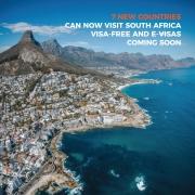 7 new countries can now visit South Africa visa-free and e-visas coming soon
