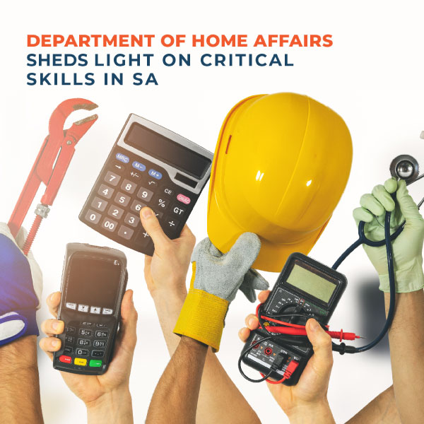 Department of Home Affairs sheds light on critical skills in SA