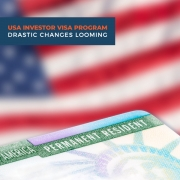 USA Investor visa program - drastic changes looming
