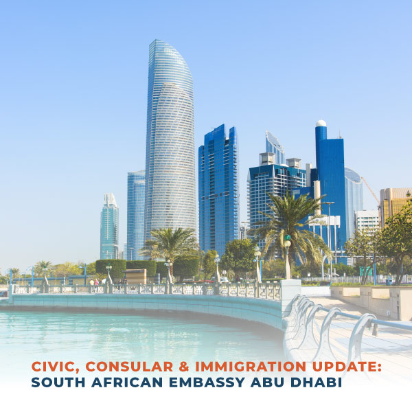 Civic Consular and Immigration Update SA Embassy Abu Dhabi